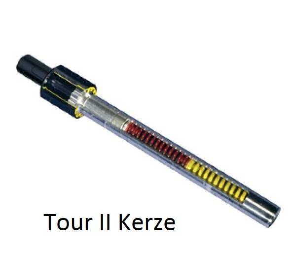 Airwings Tour Kerze 25,0mm hart